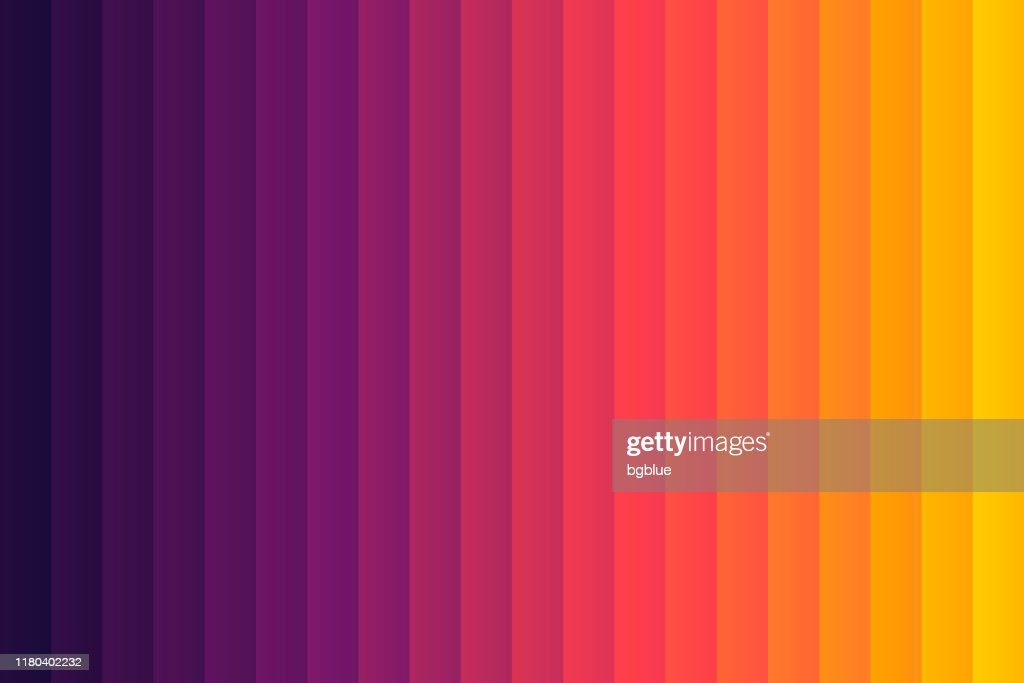 Orange Abstract Gradient Background Decomposed Into Vertical Color Lines High Res Vector Graphic Getty Images