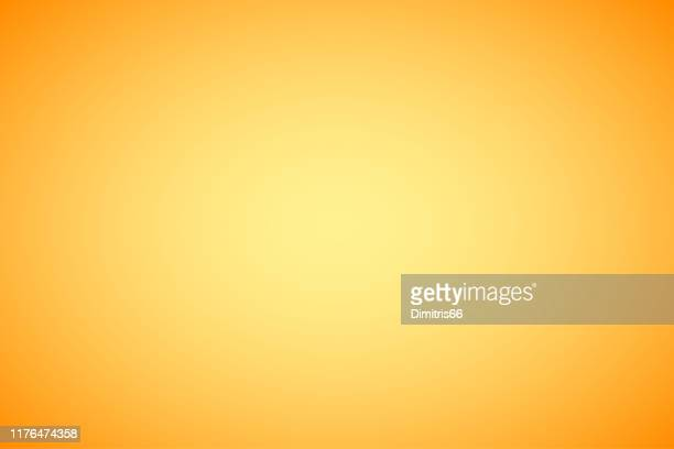illustrations, cliparts, dessins animés et icônes de fond abstrait orange de gradient - jaune