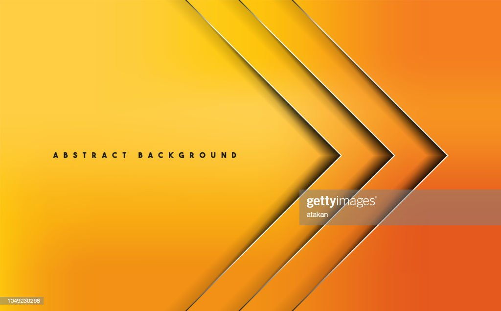 Orange Abstract Vector Background High Res Vector Graphic