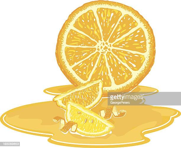 Orange and Lemon Still Life