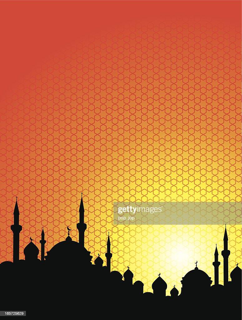 Orange and yellow Arabian Sunrise