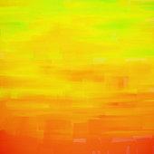 Orange and yellow background painting