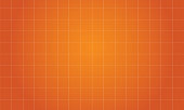 Orange background square style collection vector art
