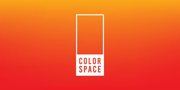 Orange Basic Elegant Soft Color Space Smooth Gradient Vector Background - gettyimageskorea