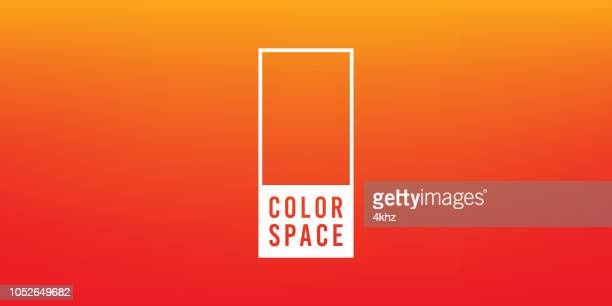 Orange Basic Elegant Soft Color Space Smooth Gradient Vector Background