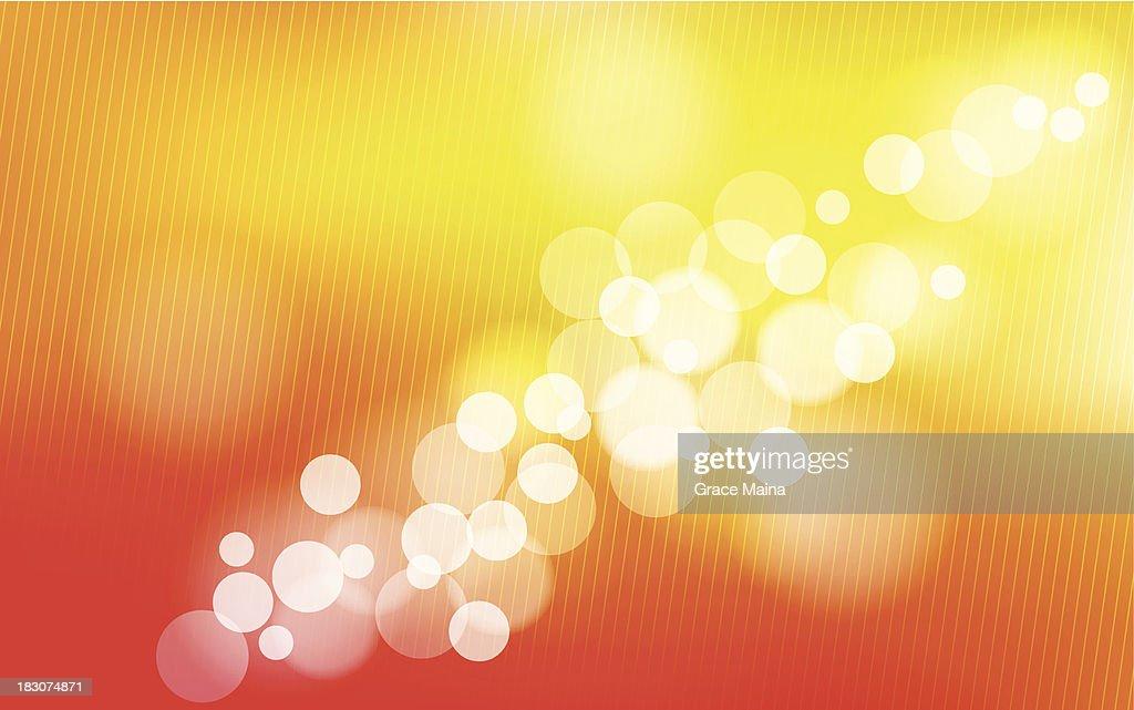 Orange blurred background - VECTOR : stock illustration