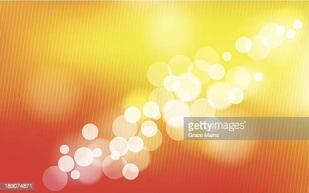orange blurred background - vector - flare stack stock illustrations, clip art, cartoons, & icons
