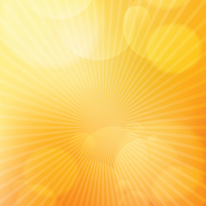 Orange bright glow background with light rays - gettyimageskorea