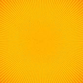 Orange bright rays background