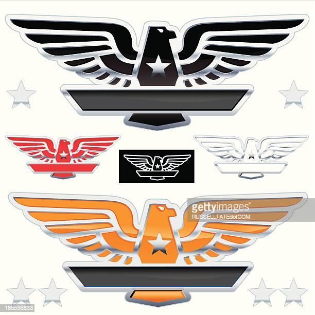 Orange Chrome Eagle