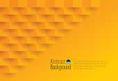 Orange color abstract background vector.