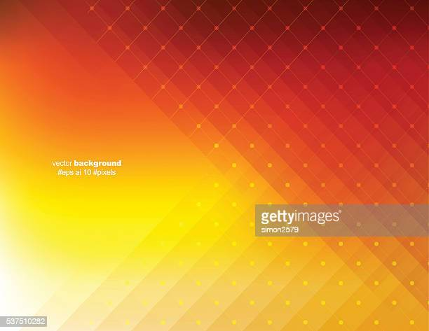 オレンジ色の背景ピクセル