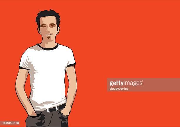 Orange dude (vector