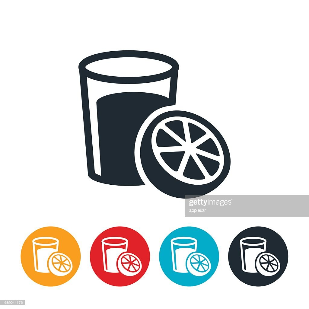 Orange Juice Icon : stock illustration