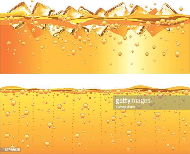 Paneles de jugo de naranja