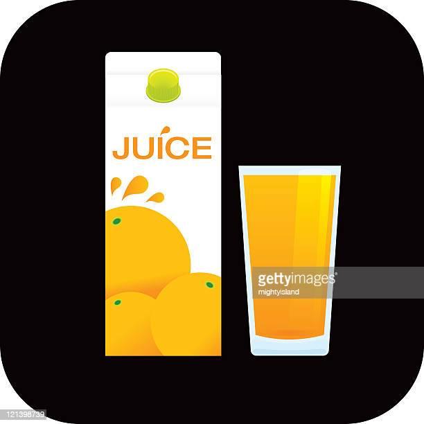 orange juice - fruit juice stock illustrations, clip art, cartoons, & icons