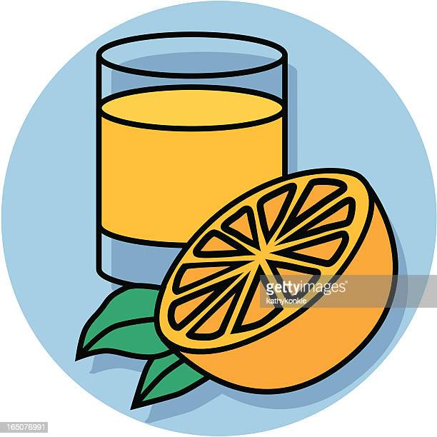 orange orangensaft - orangensaft stock-grafiken, -clipart, -cartoons und -symbole