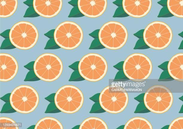 orange druck. abstrakte frucht orange - orangensaft stock-grafiken, -clipart, -cartoons und -symbole