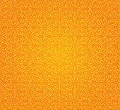 Orange wallpaper pattern vector background