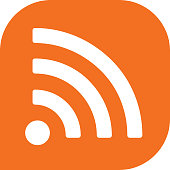 Orange Wireless Icon
