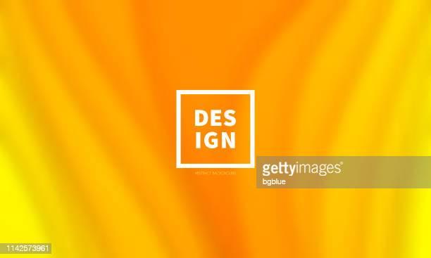 ilustraciones, imágenes clip art, dibujos animados e iconos de stock de amarillo anaranjado formas de onda borrosa-abstracto fondo de moda - amarillo color