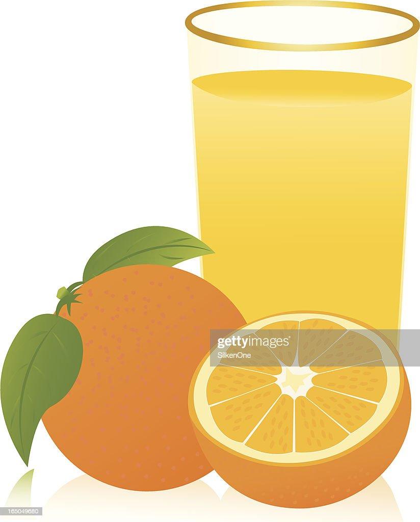 Oranges : stock illustration