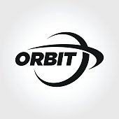 Orbit Symbol Design illustration