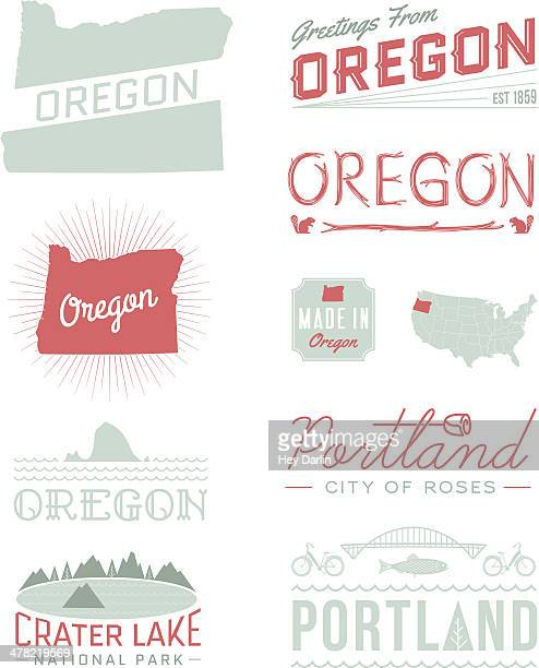 Oregon Typography