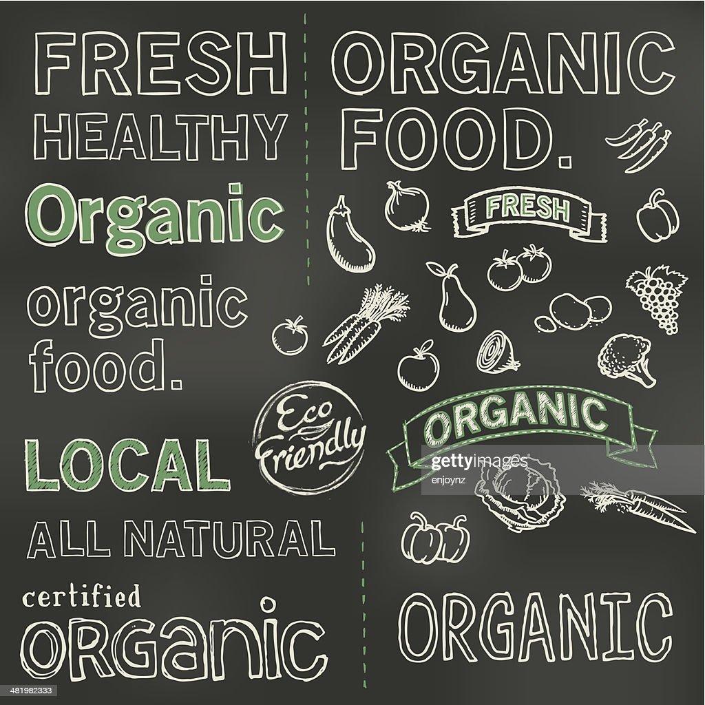 Organic blackboard