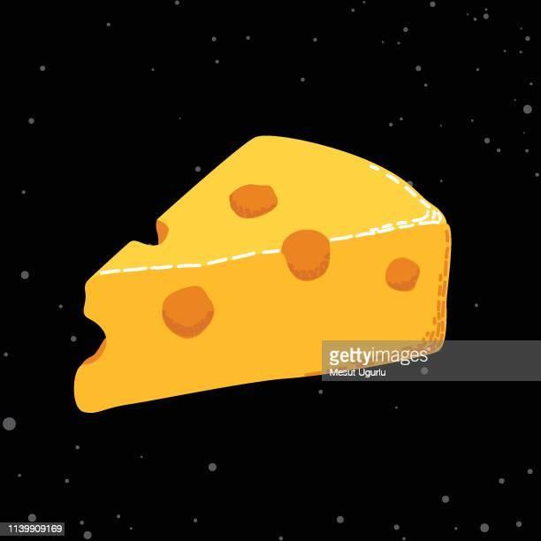 organic cheese vector - macaroni stock illustrations, clip art, cartoons, & icons