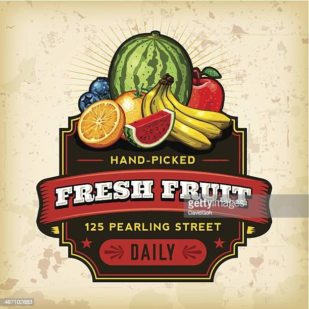 Organic Farm Fresh Label 11