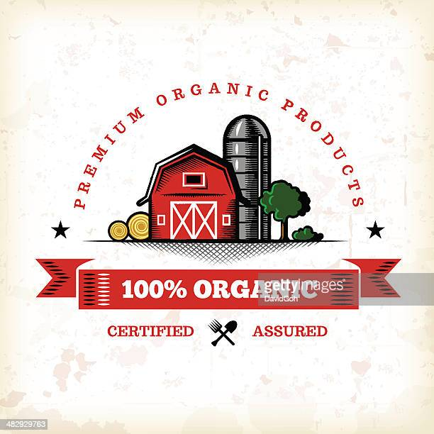 Organic Farm Fresh Label 7
