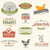 Organic Farm Labels