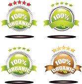 Organic product icons