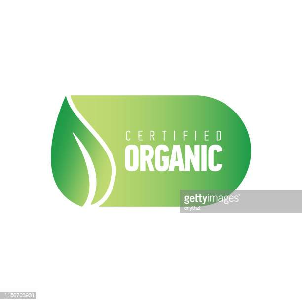 organic products banner - freshness stock illustrations