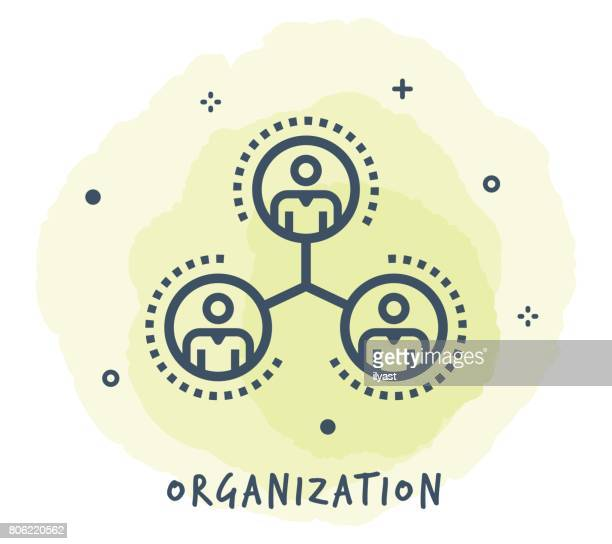 Organisation Line Icon