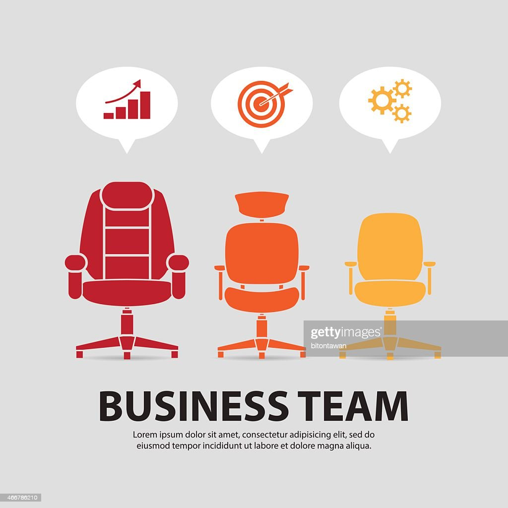 Organizational Chart  ,Executive chair, manager chair, staff chair