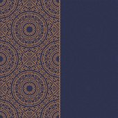 Oriental pattern with mandala