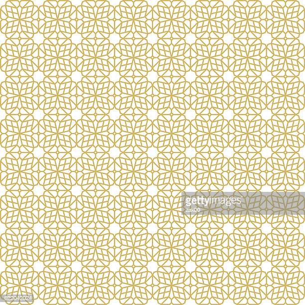 Oriental Seamless Pattern - Illustration