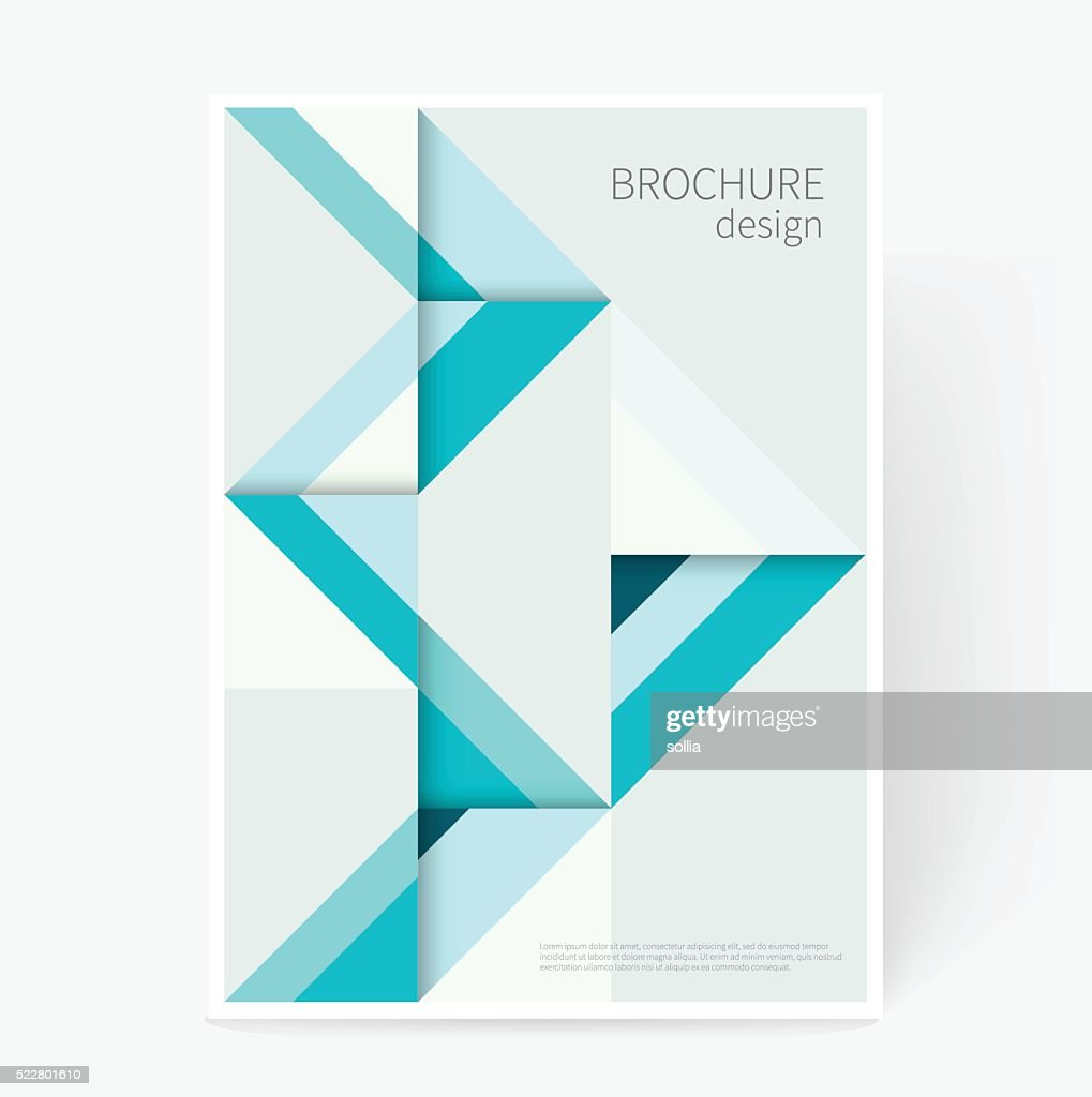 Origami abstract geometric background