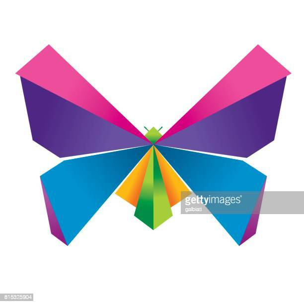 Origami butterfly 4
