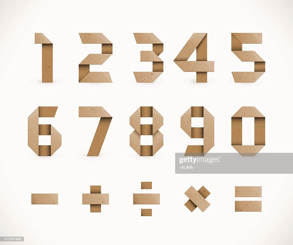 Origami Numbers
