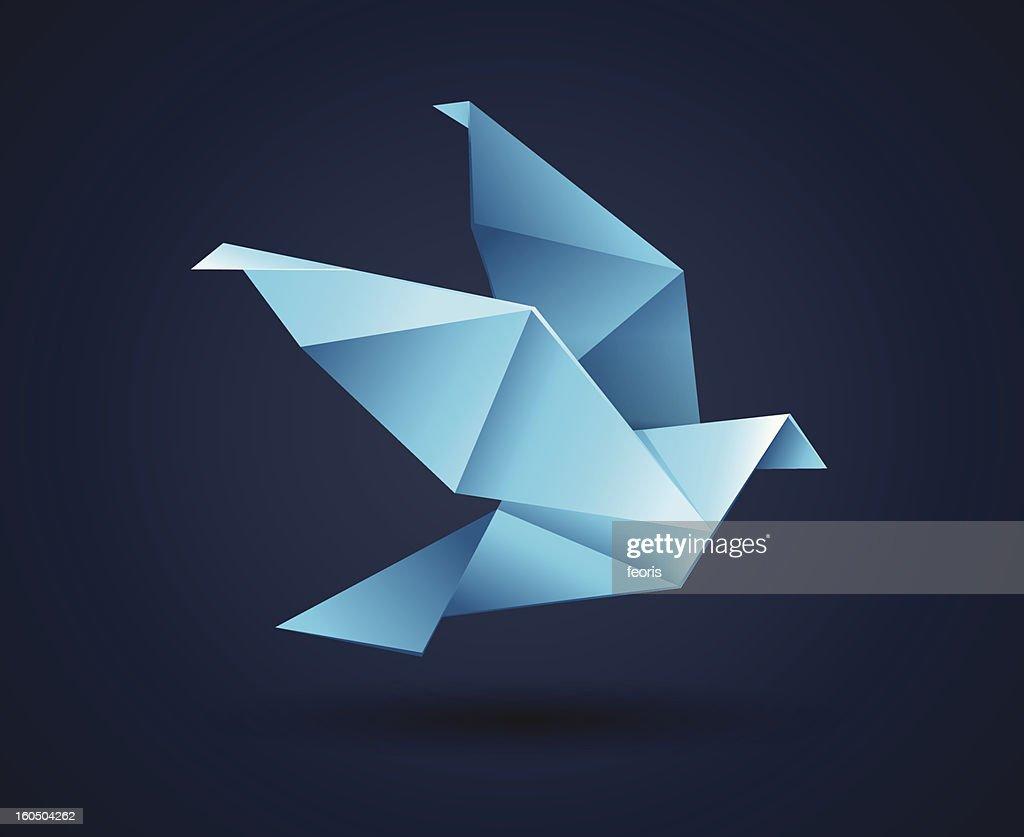 Origami Paper Bird