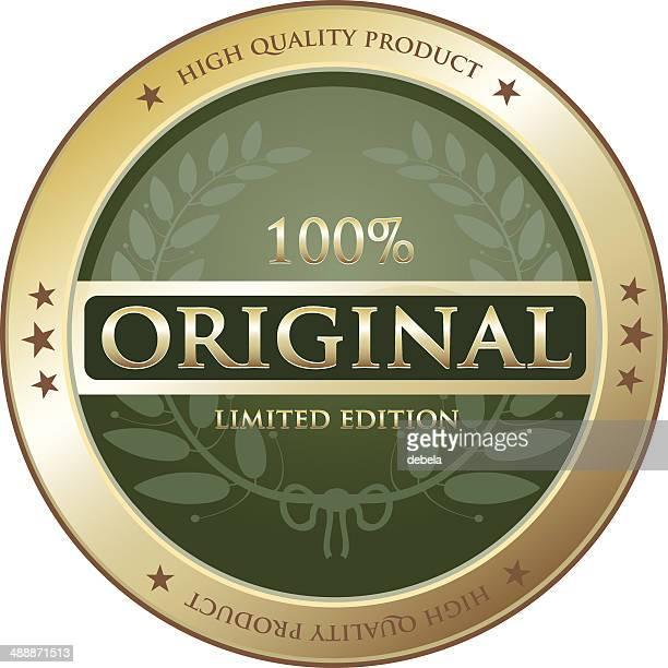 の高品質の製品ラベル - 限定版点のイラスト素材/クリップアート素材/マンガ素材/アイコン素材
