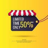 Original sale poster for discount