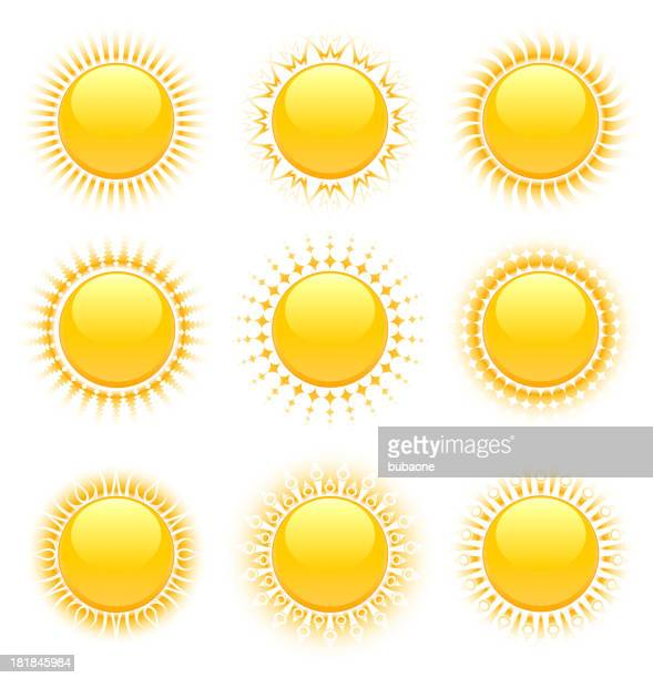 original-designs - corona sun stock-grafiken, -clipart, -cartoons und -symbole