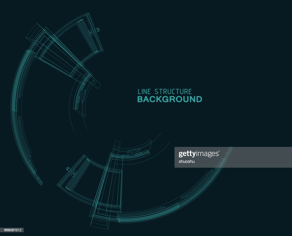 ornament line structure background : stock illustration