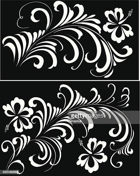 ornament - bali stock illustrations