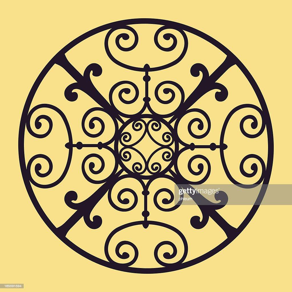 Ornamental design : stock illustration