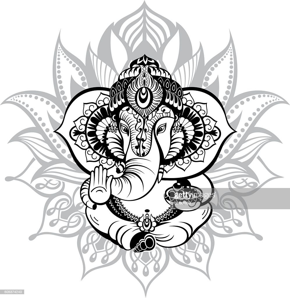 Ornamental God Ganesha
